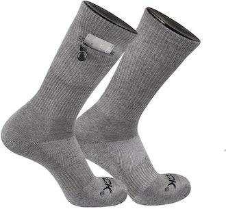 IQ TCK Performance Zip Pocket Crew Socks