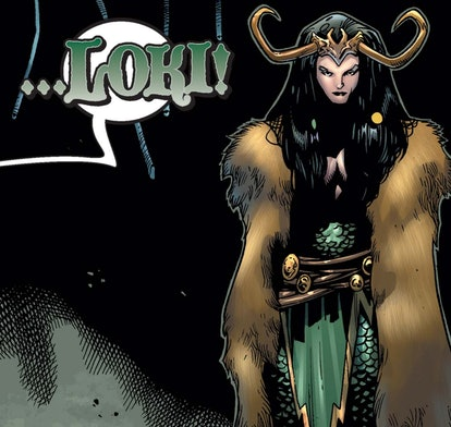 Lady Loki made her MCU debut more than a decade after her comic book introduction. Screenshot via Ma...