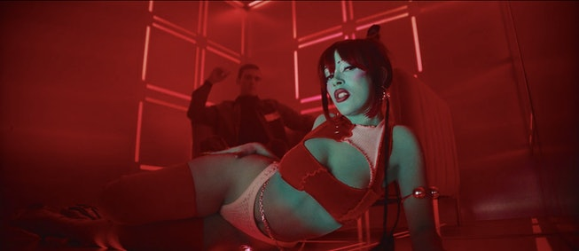 """A still from Doja Cat's new video """"Need To Know."""""""