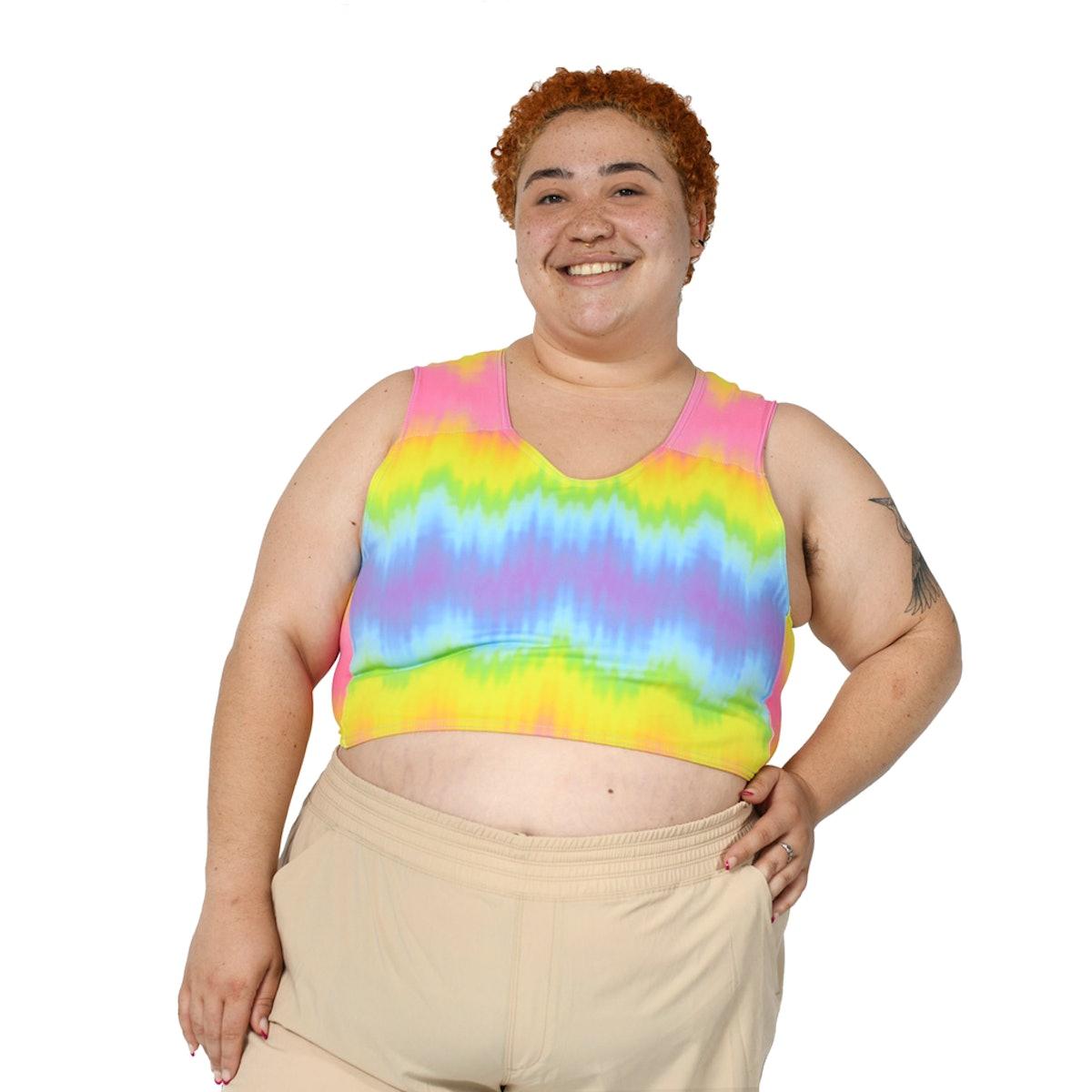 Tie-Dye Rainbow Pride Half-Binder