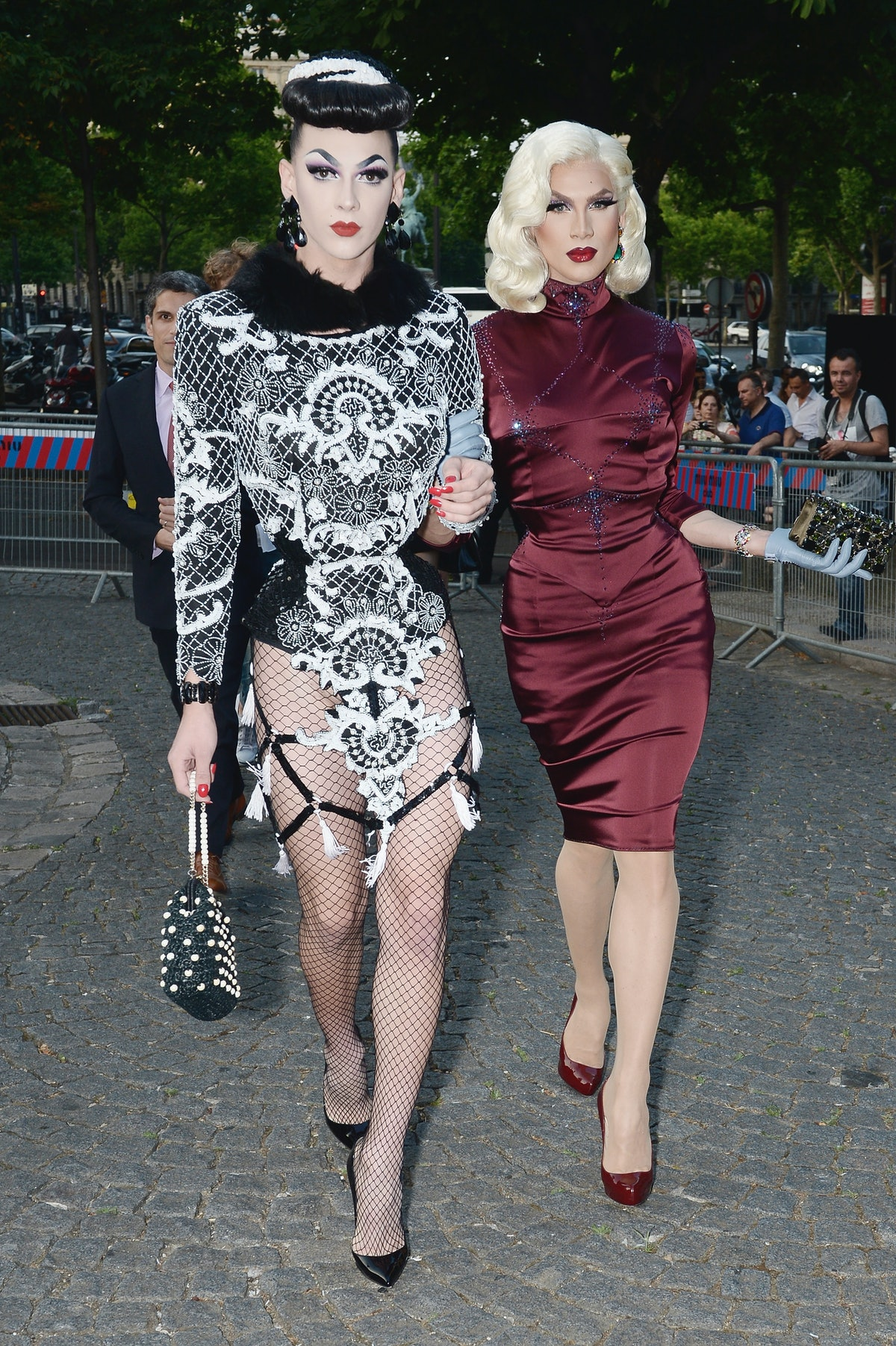 Violet Chachki and Miss Fame.