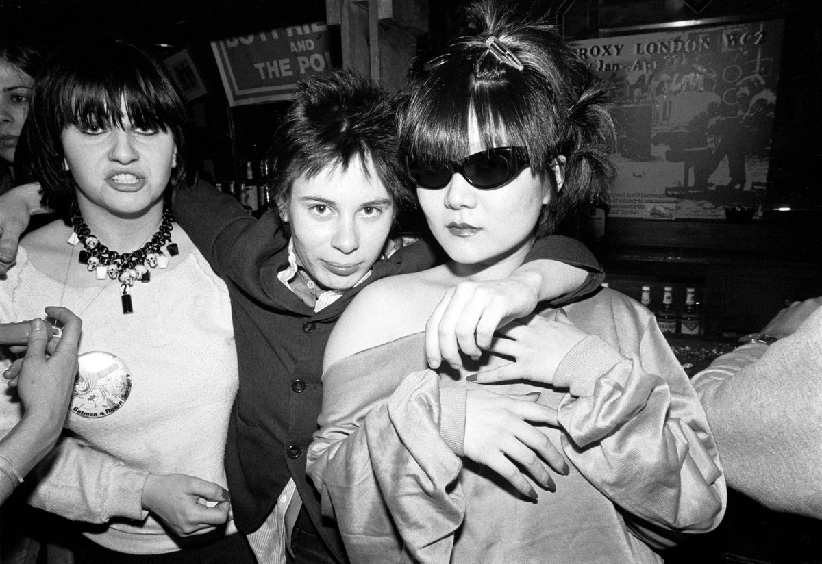 Lydia Lunch, Adele Bertei, and Anya Phillips at CBGB