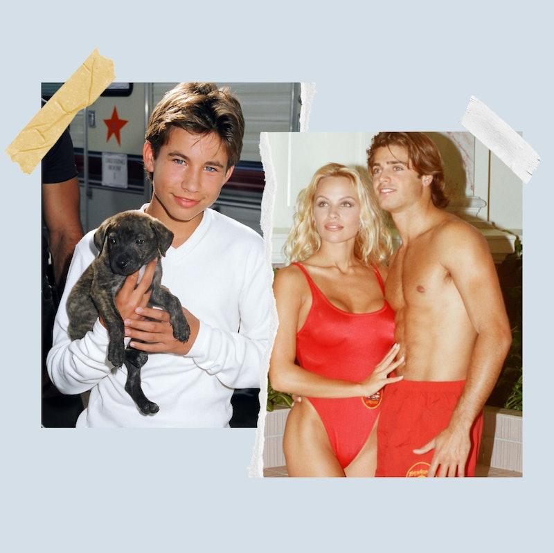 Jonathan Taylor Thomas, Pamela Anderson and David Charvet.