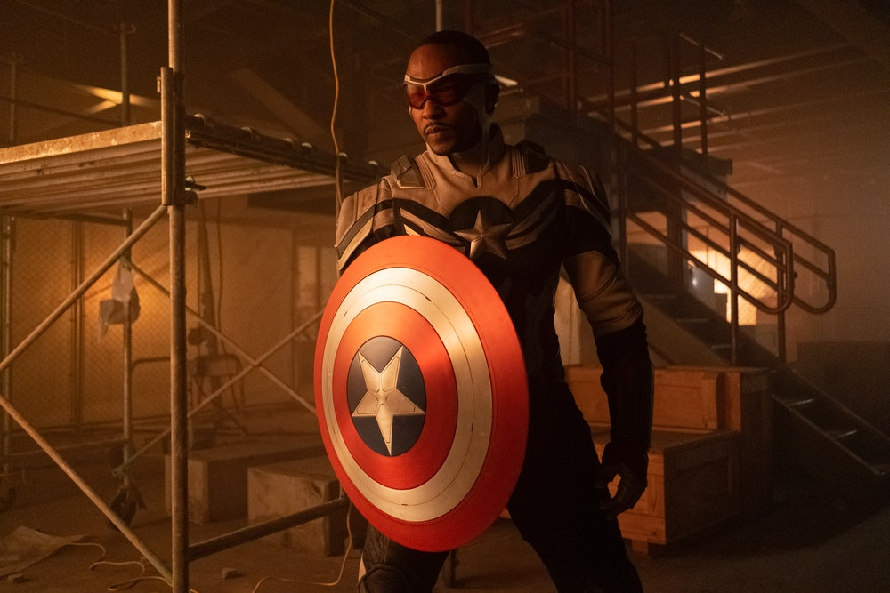 Captain America Falcon and Winter Soldier