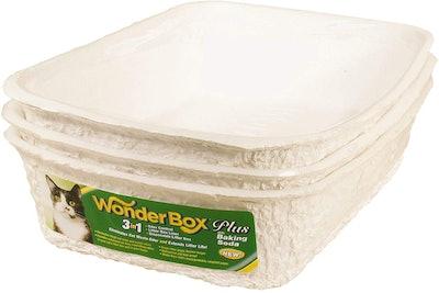 Kitty's Wonderbox Disposable Litter Box (3-Pack)