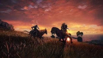 elden ring mounted horseback combat