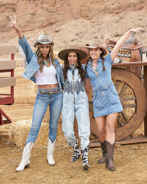 Tayshia Adams, Kaitlyn Bristowe, and Katie Thurston on 'The Bachelorette' Season 17