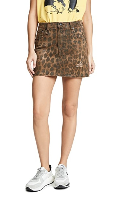 High Rise Miniskirt