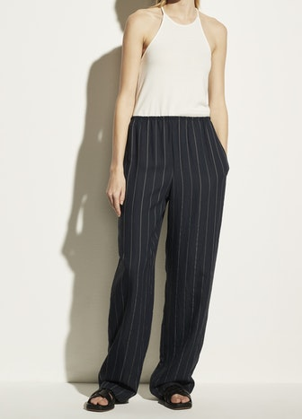 Stripe Pull On Pant in Coastal/Chiffon