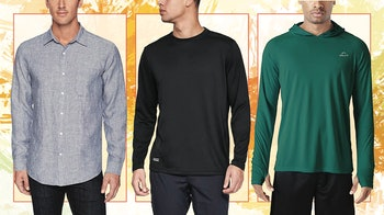 best long sleeve shirts for hot weather