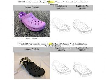 Crocs ITC Complaint
