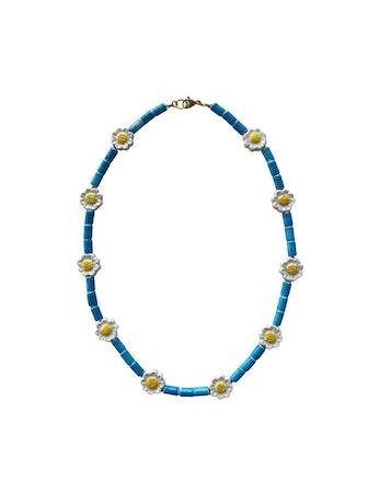 Summer Daisy Long Necklace