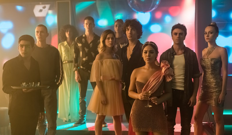 The cast of Elite on Netflix via Netflix Media Center
