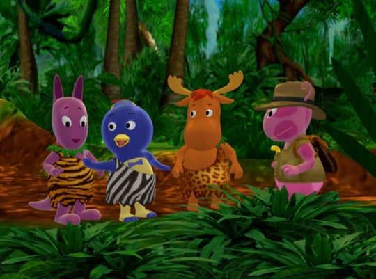 Episodes of 'The Backyardigans' are streaming on Paramount+.