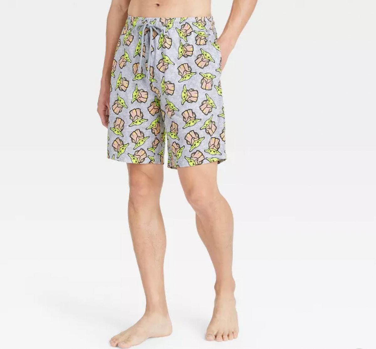 Star Wars: The Mandalorian Pajama Shorts