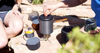 GSI Outdoors Halulite MicroDualist Outdoor Cook Set (11 pieces)
