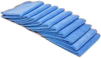 Microfiber Pros Antibacterial Microfiber Cleaning Cloths (10-Pack)
