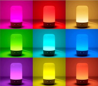 HUGOAI Touch Bedside Lamp