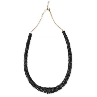 Heishi Black Opal Necklace