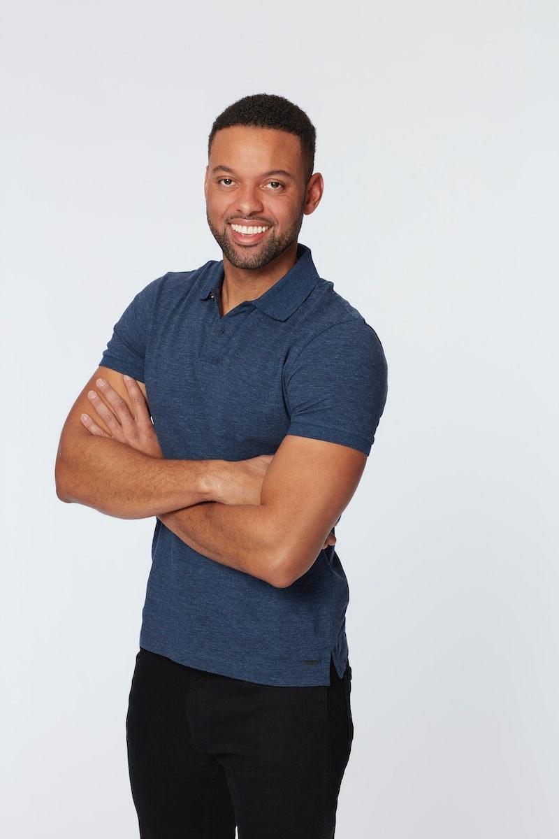 Contestant Karl Smith on 'The Bachelorette' via ABC press site.