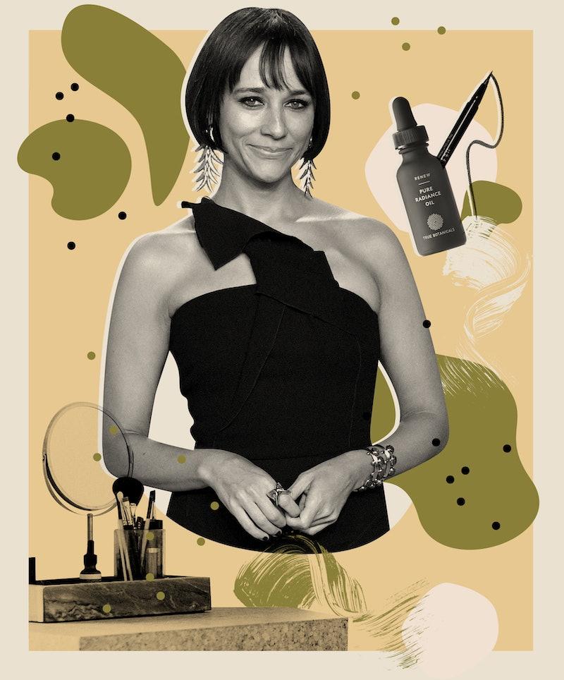 Rashida Jones reveals her drugstore beauty favorites and go-to skin care products.