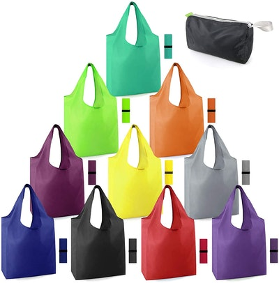 BeeGreen Foldable Reusable Grocery Bags