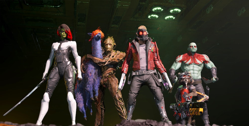 marvels guardians of the galaxy group