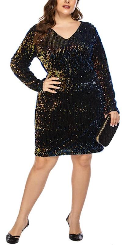 IN'VOLAND Sequin Dress