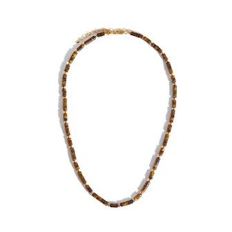 Medium Beaded Gemstone Necklace