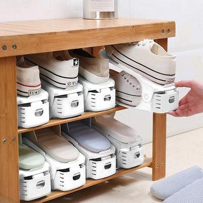 AQUAPRO Adjustable Shoe Slots Organizer