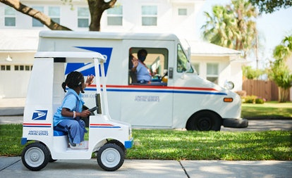 The Kid Trax Mail Delivery Truck is the perfect gift.