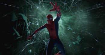Mysterio illusion in Spider-Man: Far From Home