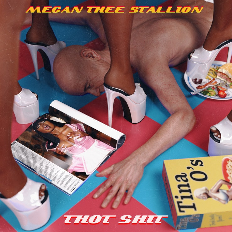 """The artwork for Megan Thee Stallion's new song """"Thot Shit."""""""