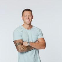 Contestant Cody Menk in 'The Bachelorette' via ABC press site.