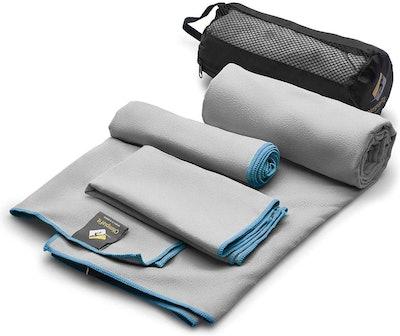 OlimpiaFit Microfiber Towels (Set of 3)