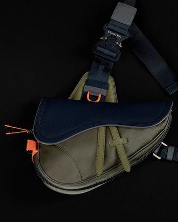 Dior x Sacai Saddle bag