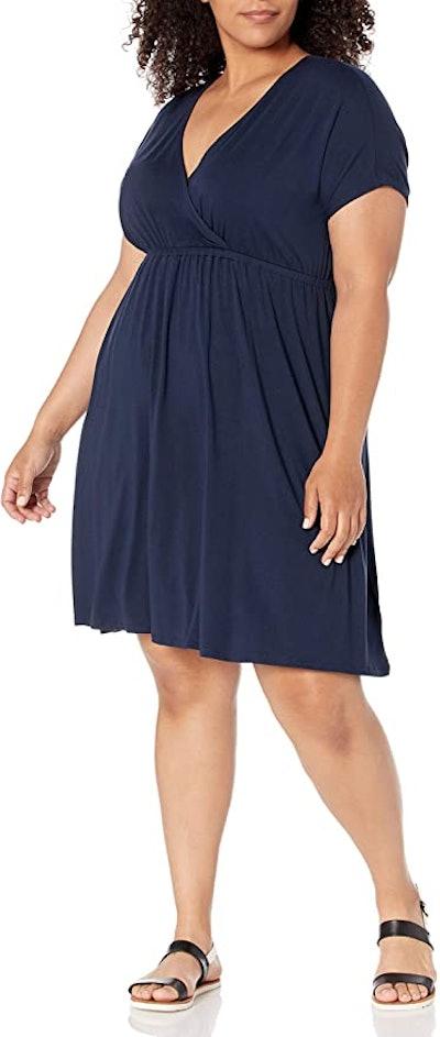 Amazon Essentials Women's Surplice Dress
