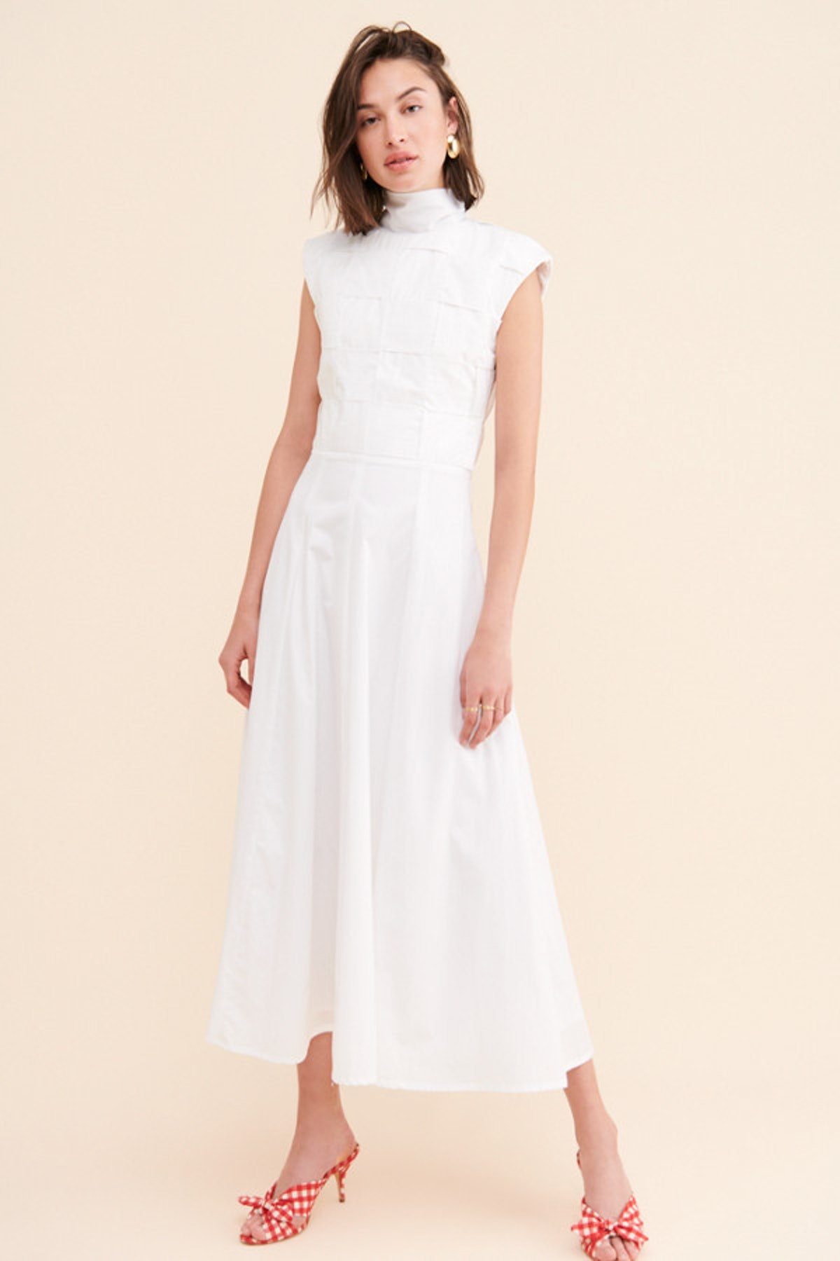 Basketweave Petra Dress