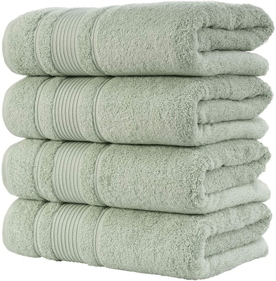 Qute Home Bath Towel Set (4 Pieces)