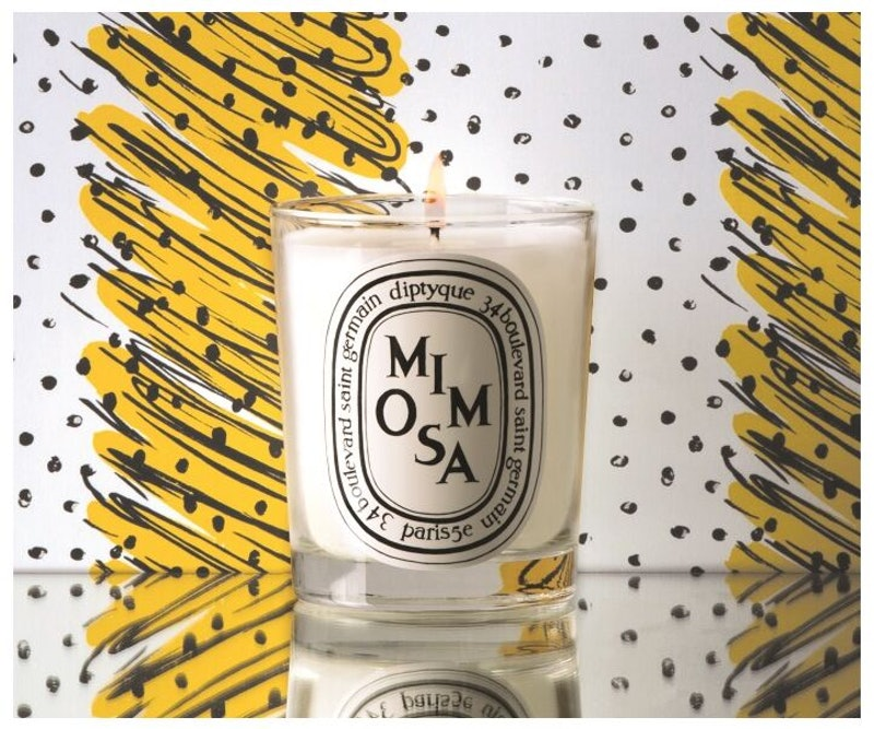 Diptyque Mimosa Candle Review