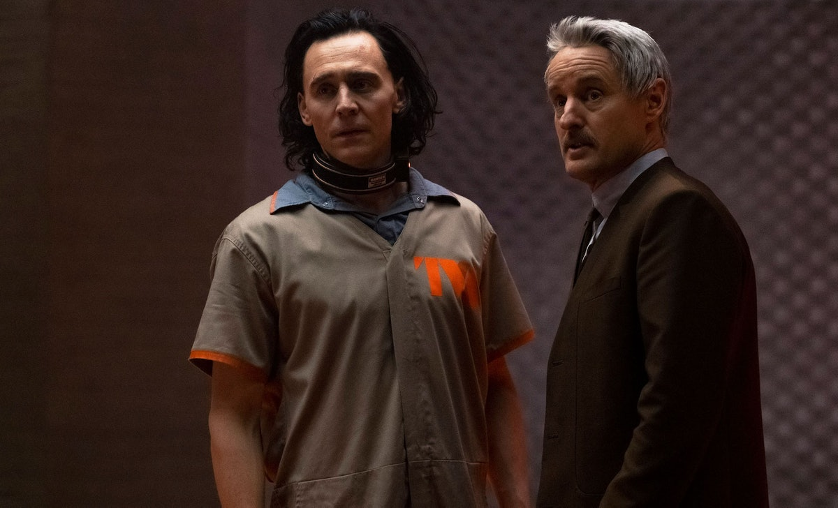 The 'Loki' premiere included a credit for the hooded villain that led Marvel fans to theorize Lady L...