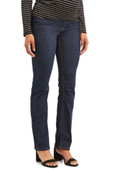 Maternity Bootcut Jeans with Underbelly Panel