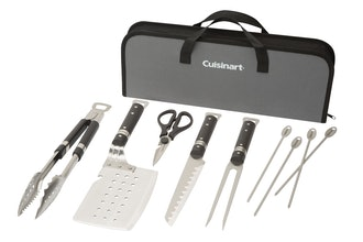 Cuisinart Chef's Classic 10 Piece Stainless Steel Grill Set