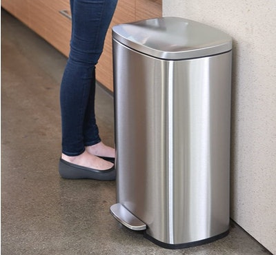 iTouchless Dual Step Trash Can & Recycle Bin