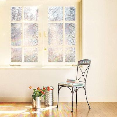 Cottoncolors Heat Control, Energy Saving, Privacy Rainbow Window Film