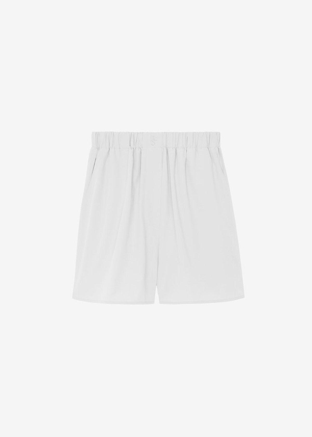 Lui Organic Cotton Boxer Short in White
