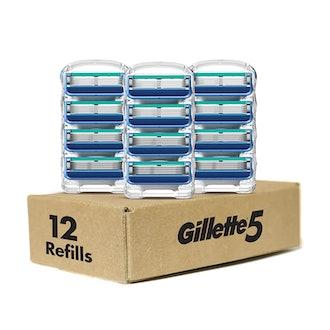 Gillette5 Men's Razor Blade Refills (12 Count)