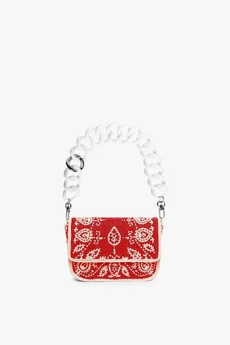Mini Tommy Beaded Chain Bag