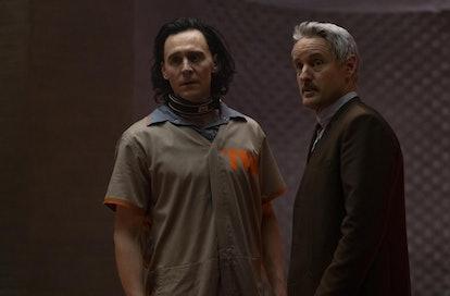 Production still of Disney+'s 'Loki' series.