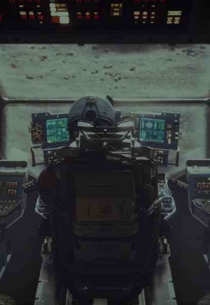 cockpit view of starfield from e3 trailer